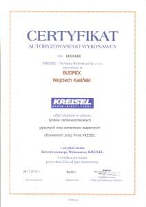 kreisel certyfikat